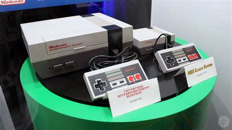 Up Close With Nintendo's New Nes Classic Edition
