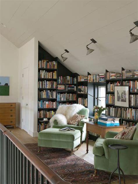 small attic library  sofa furniture