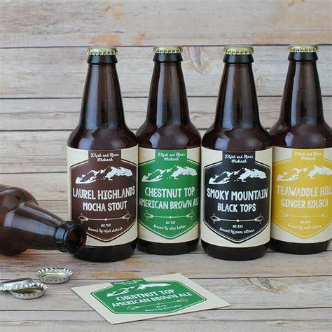 Diy Beer Bottle Labels Homemade Beer Bottle Label Home Garden Do It