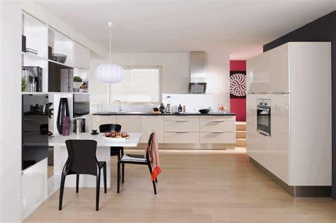 meuble de cuisine gris anthracite dix modèles de cuisines design pas chères inspiration