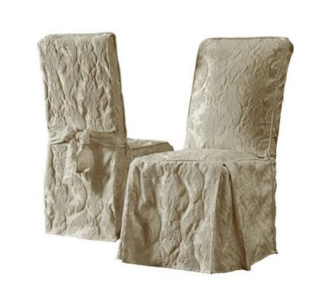 Damask Dining Room Chairs sure fit matelasse damask dining room chair qvc