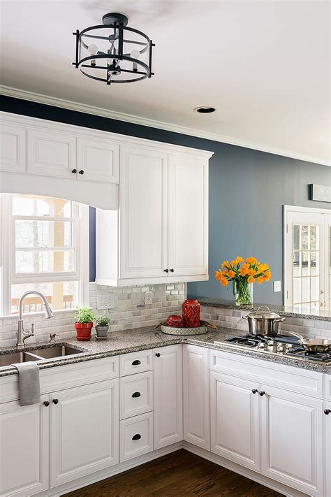white cabinets blue walls image 19090 from post blue and white cabinets with gray 809 | kitchen paint colors white cabinets blue walls and dark navy painting old color ideas brown with gray green painted small kitchens designs light wall beige countertops cedar