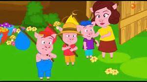 Youtube Trois Petit Cochon : 2 contos os 3 porquinhos o lobo e os 7 cabritinhos em ~ Zukunftsfamilie.com Idées de Décoration