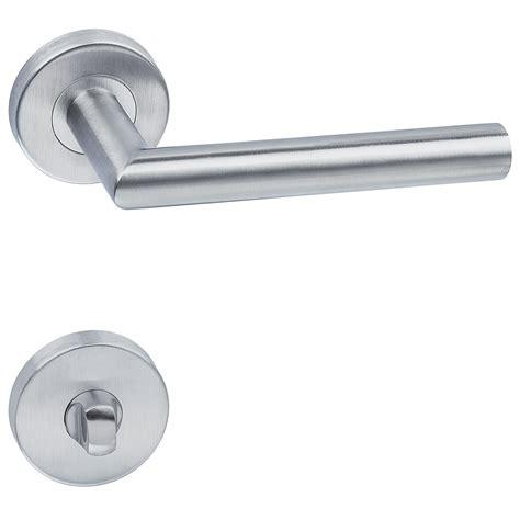 description poignee de porte poign 233 e de porte en acier inoxydable avec rosace l forme rond design ebay