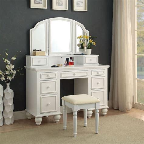 athy vanity  stool white furniture  america