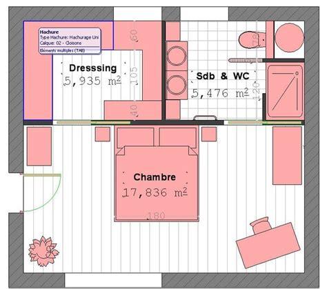 chambre avec sdb et dressing 17 meilleures idées à propos de plan de chambre parentale
