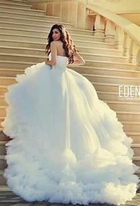 vestidos de novia que pondran celosas a las princesas de With robe de mariée 4 mariages pour une lune de miel