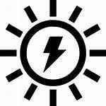 Energy Solar Icon Vector Electricity Power Sun