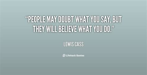 Quotes About Someone Doubting You
