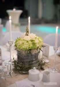 tischdeko polterabend tischdekoration grün creme weiß hortensie hochzeitsthema grün weiß und hochzeit