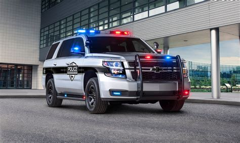 Chevy Adds New Technology To 2018 Tahoe Police Pursuit