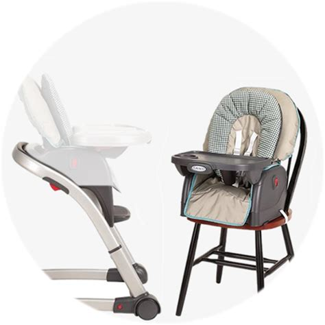 Graco High Chair Cherry Blossom by Graco Blossom 4 In 1 High Chair