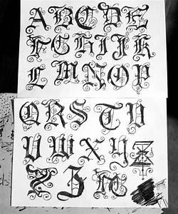 8 Gothic Letters Font Images - Gothic Graffiti Alphabet ...