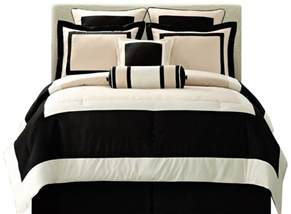 total fab black and ivory comforter bedding sets
