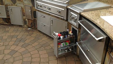 outdoor kitchen storage solutions buyers guide to outdoor storage solutions affordable 3874
