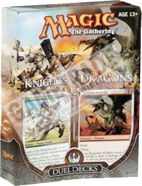 mtg sle deck 2011 mtg realm knights vs dragons decklists