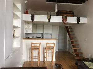 Amenagement Mezzanine Ouverte : best mezzanine pour studio ideas awesome interior home ~ Zukunftsfamilie.com Idées de Décoration