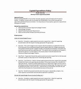 Capital expenditure proposal template 9 capital for Capital expenditure proposal template