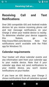 User Guide For Fitbit Charge 2 For Android
