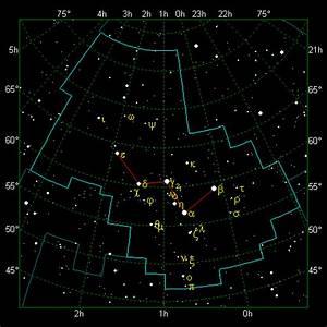 The Stellar Guide  Cassiopeia