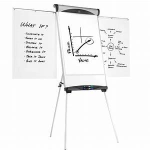 Quartet Magnetic Whiteboard Flipchart Easel Eu500e