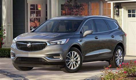 2020 Buick Crossover by The 2019 Buick Enclave Crossover Will Be One Of The Most