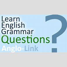 Questions  Learn English Grammar Youtube