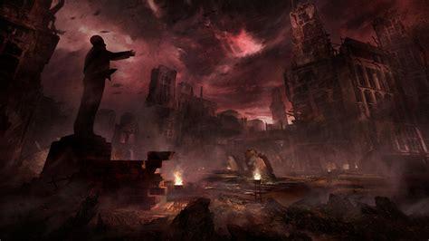 fondos de pantalla videojuegos ciudad apocaliptico