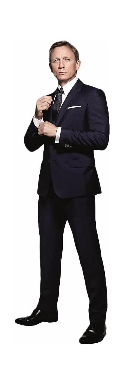 Bond James Craig Daniel Transparent Background Gun