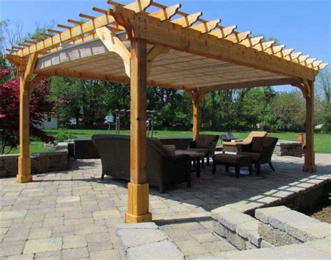 17 best ideas about free standing pergola on