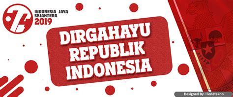 gratis banner spanduk hut ri    agustus  fone tekno