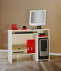 Schreibtisch Mit Druckerfach : schreibtisch tisch computertisch wei kinder jugend nb ~ Michelbontemps.com Haus und Dekorationen
