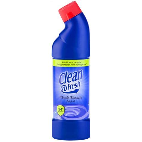 CLEAN N FRESH BLEACH ORIGINAL 750ML   Poundstretcher