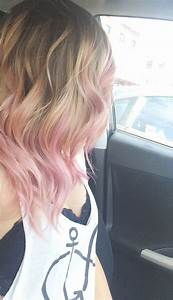 Pink ombre hair!!! AND THEY MEANT TO DO this.. I will rock ...