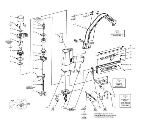 Bostitch MIIIFS Type 121530000 Parts List   Bostitch