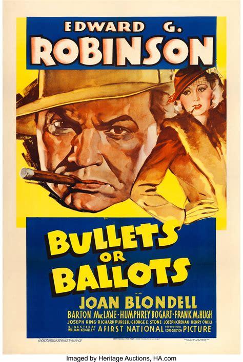 bullets  ballots warner brothers   sheet