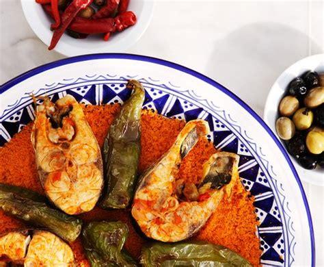 cuisine tunisienne poisson couscous tunisien au poisson cuisine tunisienne