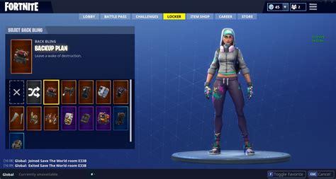 selling fortnite account includes stw good skins
