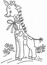 Embroidery Giraffe Aunt Wb 1972 Applique Pattern Martha Patterns Blocks Designs Bordado Coloring Collect Leerlo Hand Partir Guardado sketch template