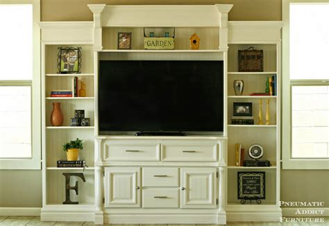 diy built in entertainment center add more colors in your by these diy entertainment 8747