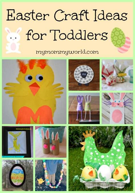 easter craft ideas  toddlers  mommy world