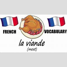 French Lesson 11  Food Vocabulary  Learn French  The French Minute Youtube