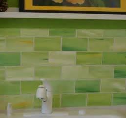 Green Kitchen Backsplash Tile 2014 Lime Green Glass Tile Backsplash Coolest Lime Green Glass Backsplash