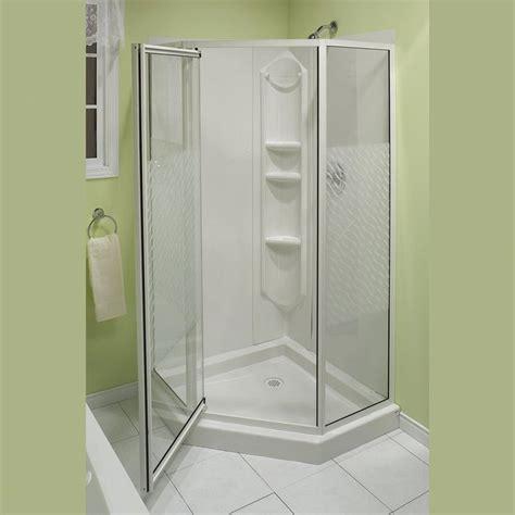 corner shower units ideas  pinterest