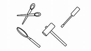 Draw Simple Engineering Tools For Kids