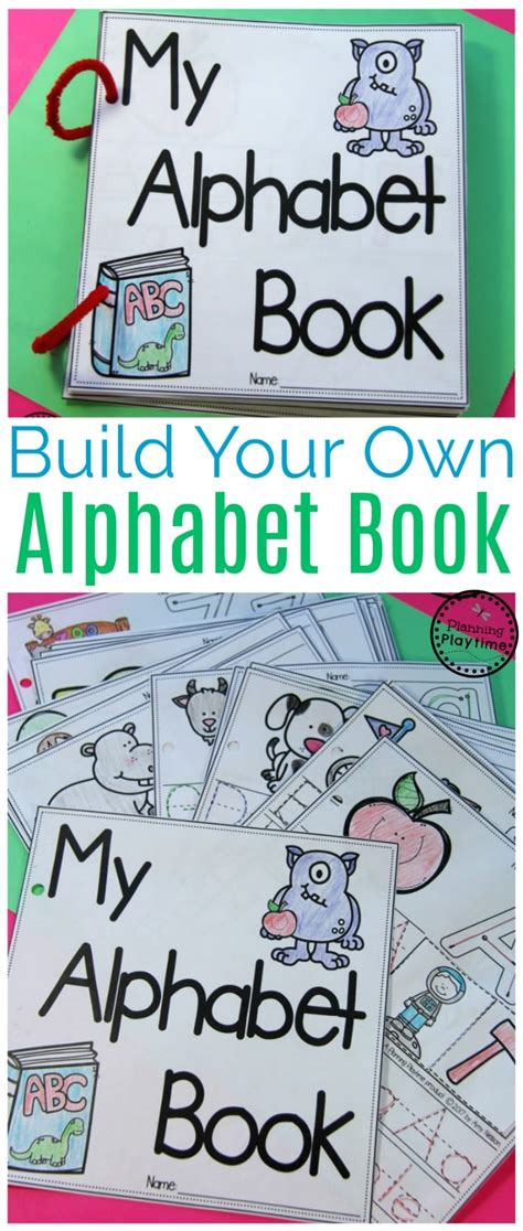 diy alphabet books planning playtime 914 | DIY Alphabet Books for Preschool or Kindergarten