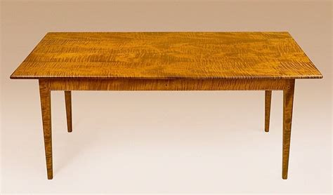 maple kitchen tables for sale dining table shaker style tiger maple wood farmhouse