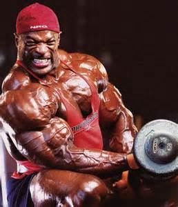 Standing Preacher Curl Bench by Bodybuilder Ronnie Coleman S Workout Program And Diet Plan