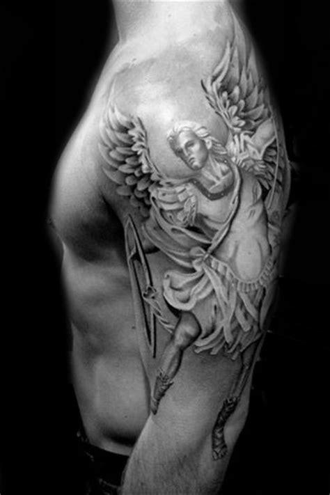 Warrior Angel Religious tattoo by Westfall Tattoo | Best