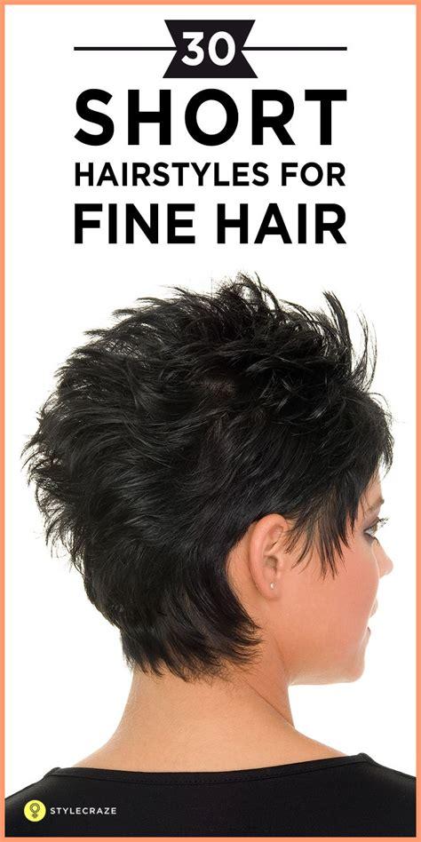 short hairstyles  fine hair hairstyles  women